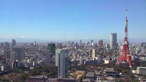 Tokyo-Tower-Mount-Fuji-With-Skyline