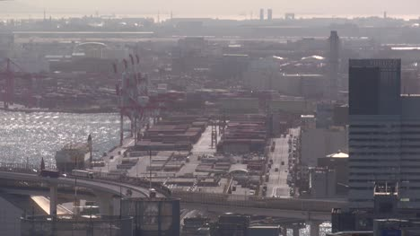 Long-Shot-of-the-Port-Of-Tokyo