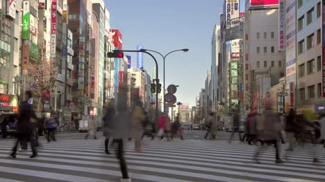 Slow-Shutter-of-Crowd-Crossing-the-Road