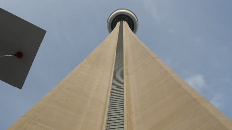 Looking-Up-at-CN-Tower