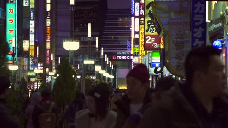 Busy-Street-in-Tokyo-at-Night