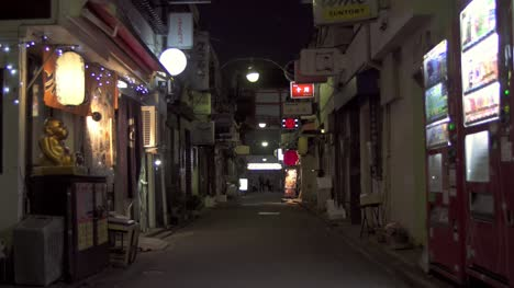 Narrow-Japanese-Alleyway-at-Night