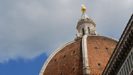 Close-Up-of-Florence-Cathedral-Dome