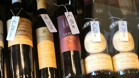 Bottles-of-Wine-with-Price-Tags