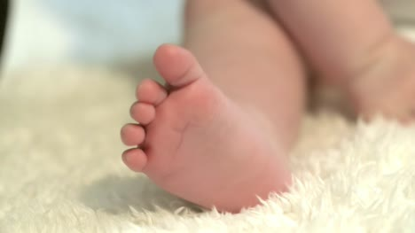 Baby-Foot-Close-Up
