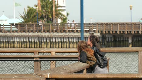 Two-Young-Woman-Overlooking-San-Francisco-Bay