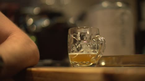 Glass-of-Beer-on-Bar-in-Pub