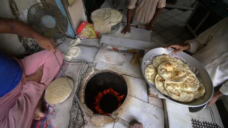 Man-Cooking-Indian-Street-Food