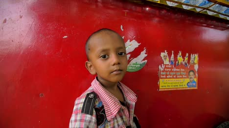Panning-Around-Young-Indian-Boy