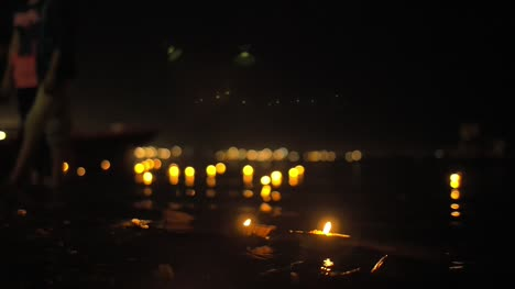 Candles-On-the-River-Ganges