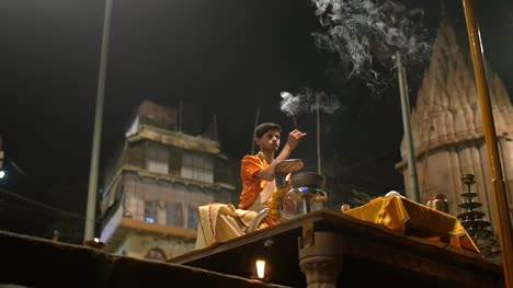 Religious-Ceremony-at-Night-in-India