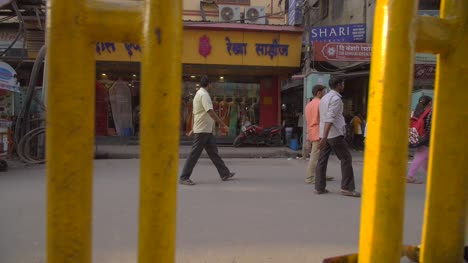 Tracking-Along-Busy-Indian-Street