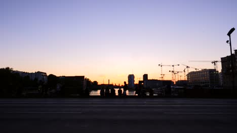 Silhouetted-Berlin-Cityscape-at-Sunset