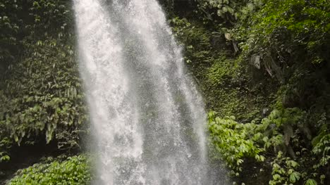 Panning-Down-a-Waterfall-in-Indonesia
