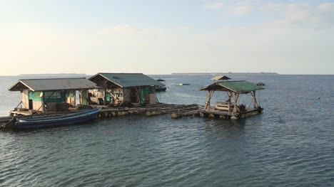 Pontoon-Floating-in-Indonesian-Bay