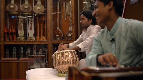 Men-Playing-Traditional-Indian-Instruments