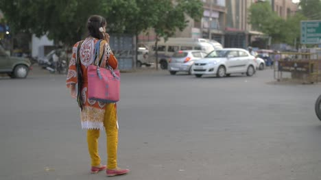 Indian-Woman-Talking-on-the-Phone