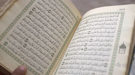 Leafing-Through-Quran
