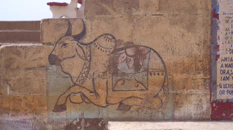 Indian-Cow-Mural
