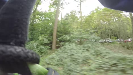 POV-Zipwire-Through-Woodland
