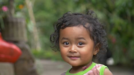 Handheld-Shot-of-Young-Balinese-Child