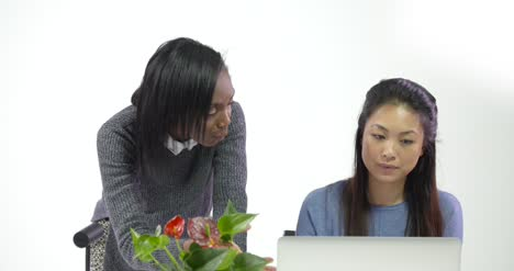 Two-Young-Business-Women-Working-Together