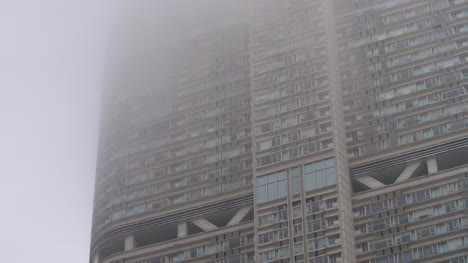 Hong-Kong-Highrise-Surrounded-by-Mist