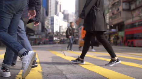 Legs-Crossing-a-Street-in-Hong-Kong