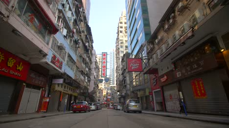 Low-Level-Shot-Along-Hong-Kong-Street