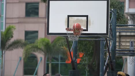 Slow-Motion-Basketball-Goal