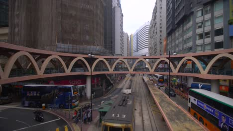 Downtown-Intersection-in-Hong-Kong