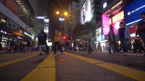 Low-Level-Shot-of-Hong-Kong-Crosswalk