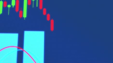Animated-Looping-Trading-Candlesticks-and-Graph