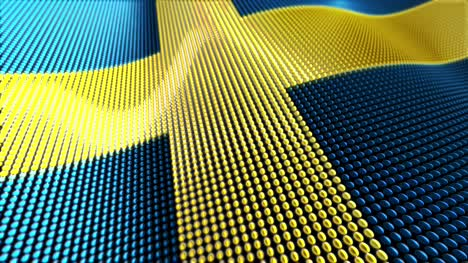 Motion-Particle-Flag-Loop-Sweden