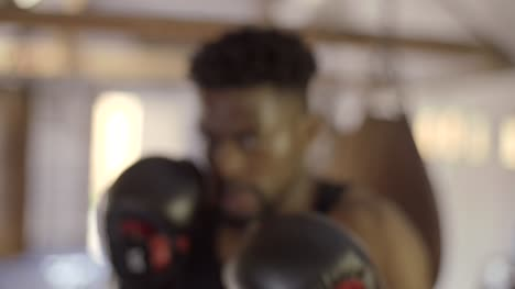 Boxer-Punching-Towards-Camera-in-Slow-Motion