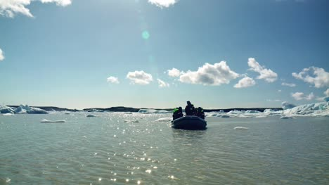 Dinghy-on-an-Icelandic-Lagoon