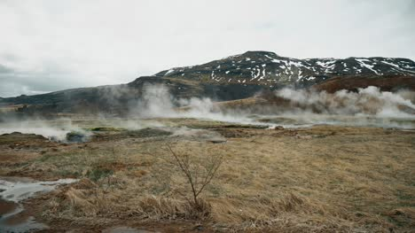 Steam-Coming-Off-a-Geyser-in-Iceland