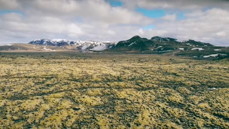 Flying-Over-Icelandic-Landscape