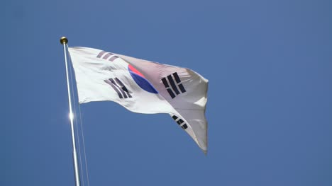 South-Korean-Flag-Slow-Motion