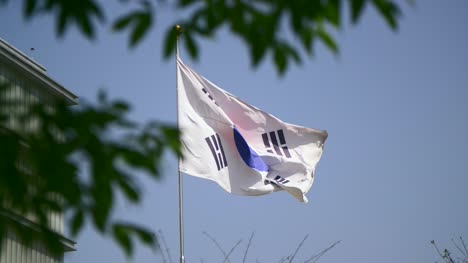 South-Korean-Flag-in-the-Wind
