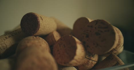 Tracking-Shot-Over-Wine-Corks