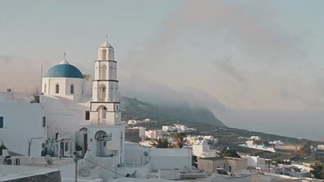 Time-Lapse-of-Greek-Hillside-Town