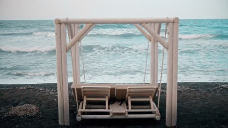 White-Swing-Lounger-by-the-Sea