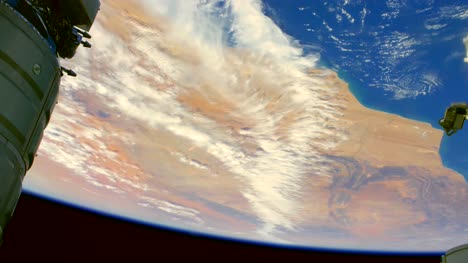 Graded-Footage-of-Western-Sahara-and-Atlantic-Ocean