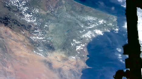 Graded-Footage-of-Morocco-and-Alboran-Sea-from-Space