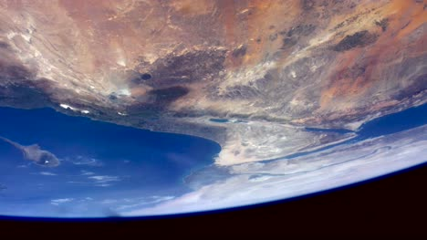 Middle-East-from-ISS-Graded-Footage