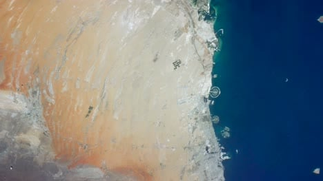 United-Arab-Emirates-and-Oman-from-Space-Graded