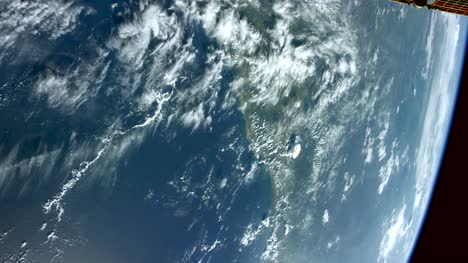 Gulf-of-Mexico-and-Texas-from-ISS-Graded