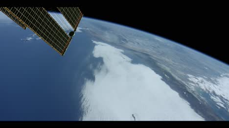 Satellite-Flying-Over-Pacific-Ocean