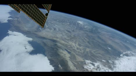 Satellite-Flying-Over-US-West-Coast